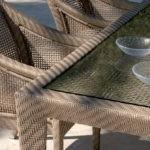 Мебель из искусственного ротанга не боится воды
