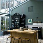 Остекление летней кухни алюминиевыми конструкциями