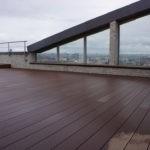 Террасная доска на эксплуатируемой крыше