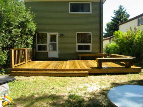 Натуральная древесина для покрытия террасы