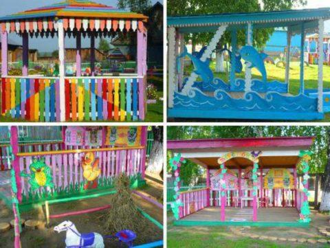 Детские веранды в садике