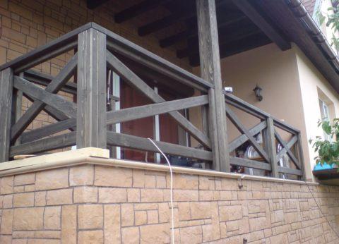 Пристройка в виде террасы дает дополнительное пространство