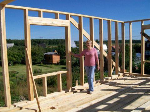 Строительство каркасной бани — самое бюджетное решение
