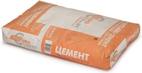 Цемент — основной материал для фундамента