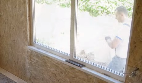 Окна веранды