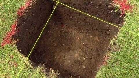Вырытая яма