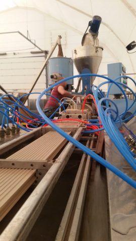 Доска террасная: производство изделий