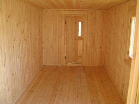 Внутренняя обшивка деревянной вагонкой