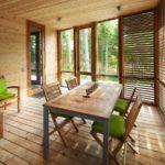 Деревянный дом – деревянные окна: все логично