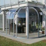 Из поликарбоната делают готовые гнутые конструкции