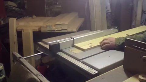 Распиловка заготовок на части