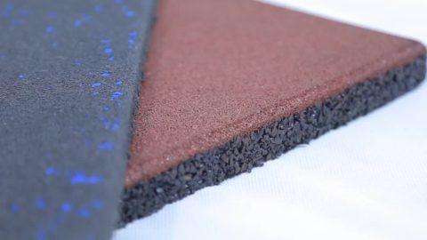 Структура резинового покрытия