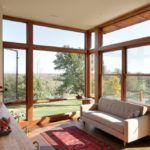 Терраса с панорамными окнами