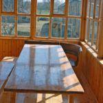 Застекленная терраса дачного дома