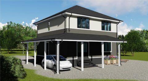 Готовые дома не только эстетически привлекательны, но и прочны, долговечны и теплоэффективны