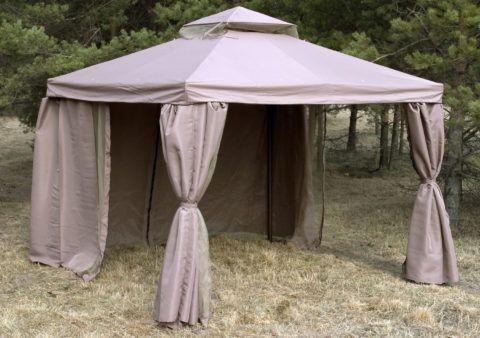 Компактный шатер в восточном стиле