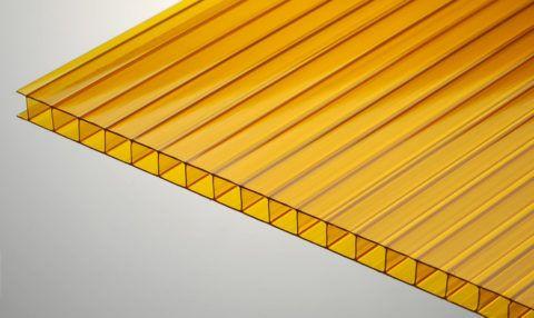 Строение сотового поликарбоната