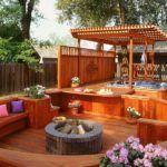 Многоуровневый комплекс для отдыха на придомовом участке