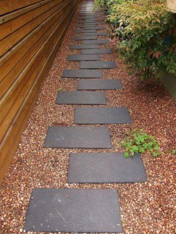 Садовая бетонная плитка