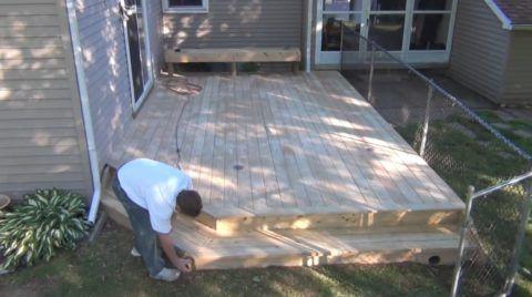 Обработка деревянной поверхности