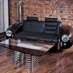 Автомобильные запчасти, в том числе и в качестве элементов дизайнерской мебели