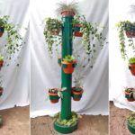 Подставки для горшков из канализационных труб