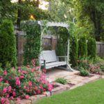 Уютная садовая пергола